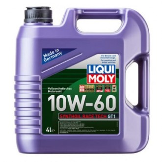Liqui Moly Synthoil Race Tech GT 1     Синтетическое 10W60 ACEA A3|B4, API SL|CF,    4 л.,