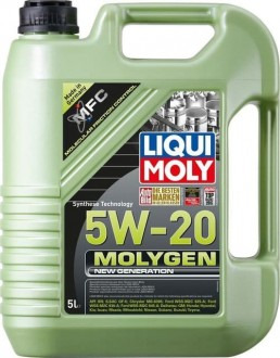 Liqui Moly Molygen New Generation      Синтетическое 5W20  API SN, ILSAC GF5,   5 л.,