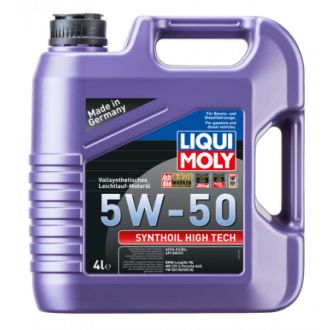 Liqui Moly Synthoil High Tech     Синтетическое 5W50 ACEA A3|B4, API SM|CF,    4 л.,